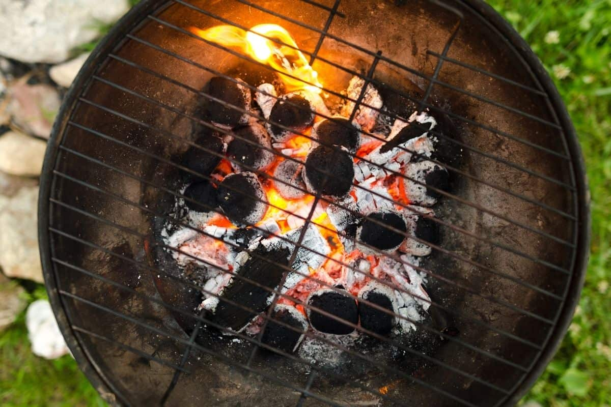 How To Put Out A Charcoal Grill (Safely!)